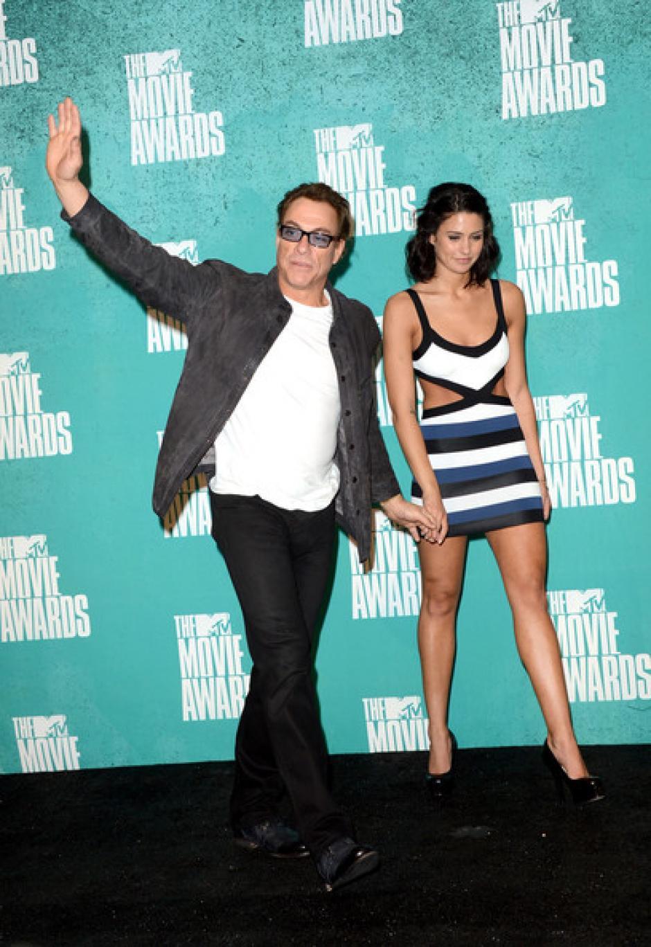 Van Damme ha acompañado a su hija a varios eventos. (Foto: Fotograma)