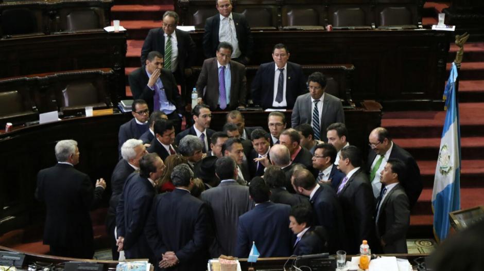 Los jefes de bloque acordaron continuar la aprobación el próximo año. (Foto: Alejandro Balán/Soy502)