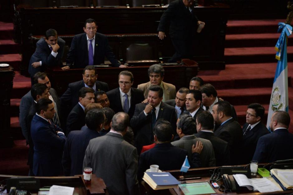 Los diputados no se pusieron de acuerdo en la sesión de este martes. (Foto: Wilder López/Soy502)