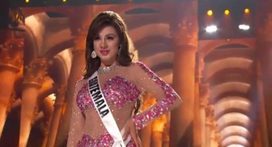 Aburto pasó con una sonrisa. (Foto: Miss Guatemala)