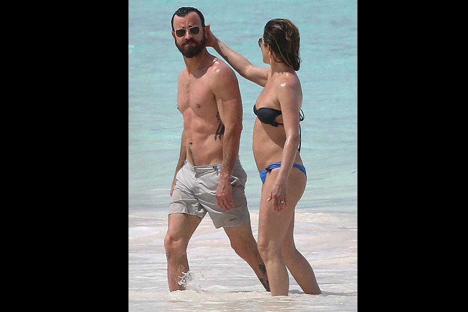 Jennifer lleva casi un año de casada con Justin Theroux. (Foto: Twitter)