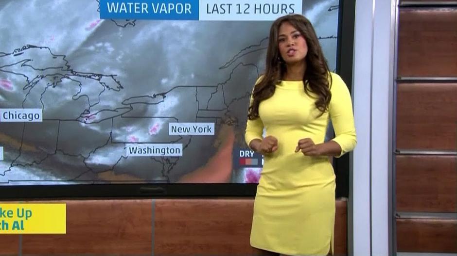 Jen labora para el canal The Weather Channel. (Imagen: captura de YouTube)