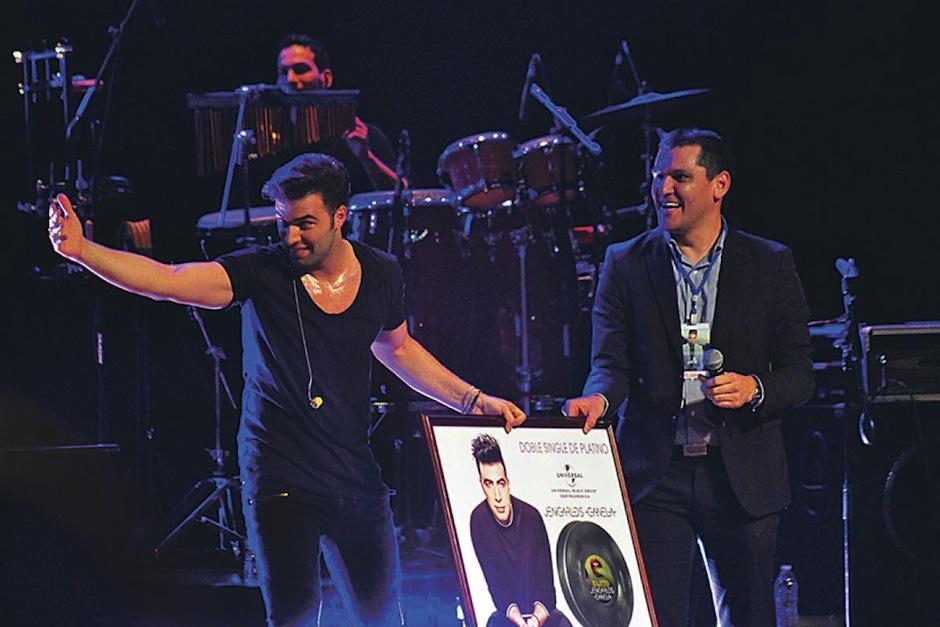 Jencarlos Canela ha recibido galardones por su música. (Foto: Universal)