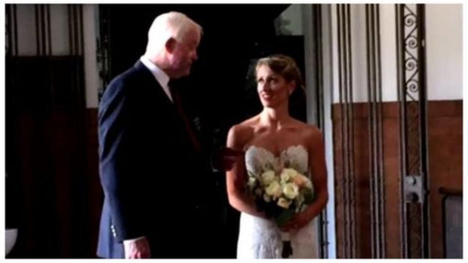 Thomas viajó junto a su esposa desde Nueva Jersey hasta Pensilvania para asistir a la boda. (Foto: Mirror)