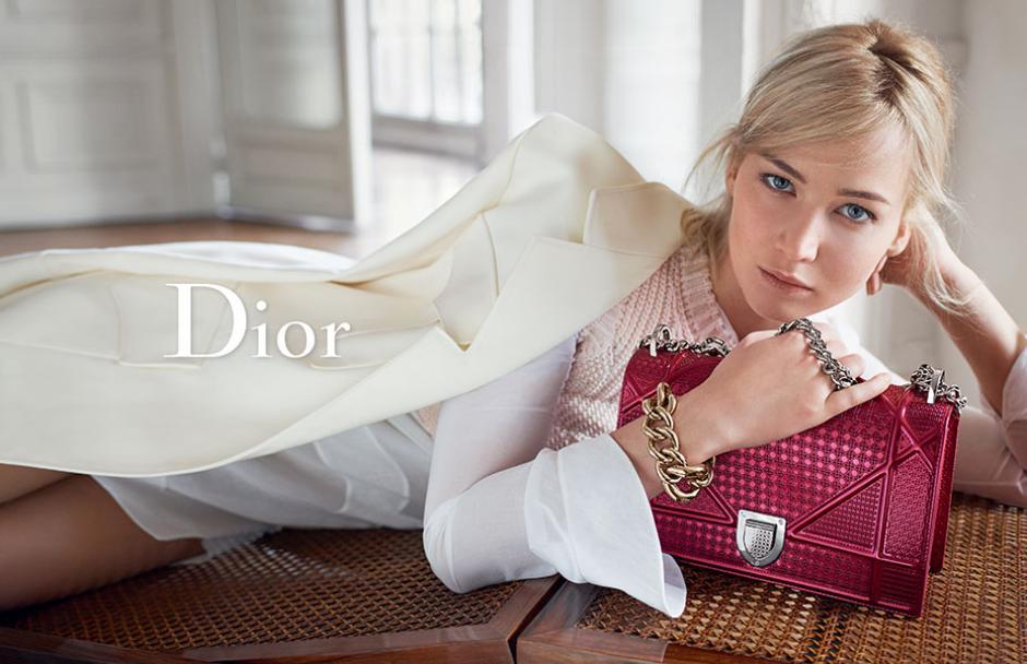 Jennifer Lawrecne es la nueva cara de Dior. (Foto: hollywoodreporter.)