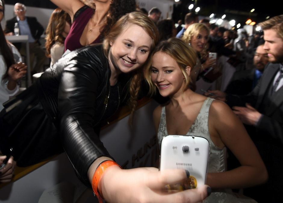 La famosa actriz Jennifer Lawrence afirma que además de fama y dinero ha adquirido terror. (Foto: Los Angeles Times)