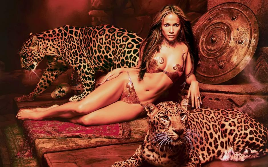 La cantante Jennifer López luce sus curvas. (Foto: fiesta1037.fm)