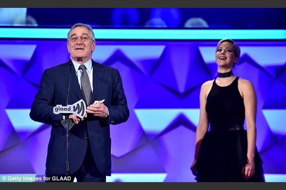 Jennifer Lawrence asistió a la gala de los GLAAD Awards. (Foto: Mail Online)