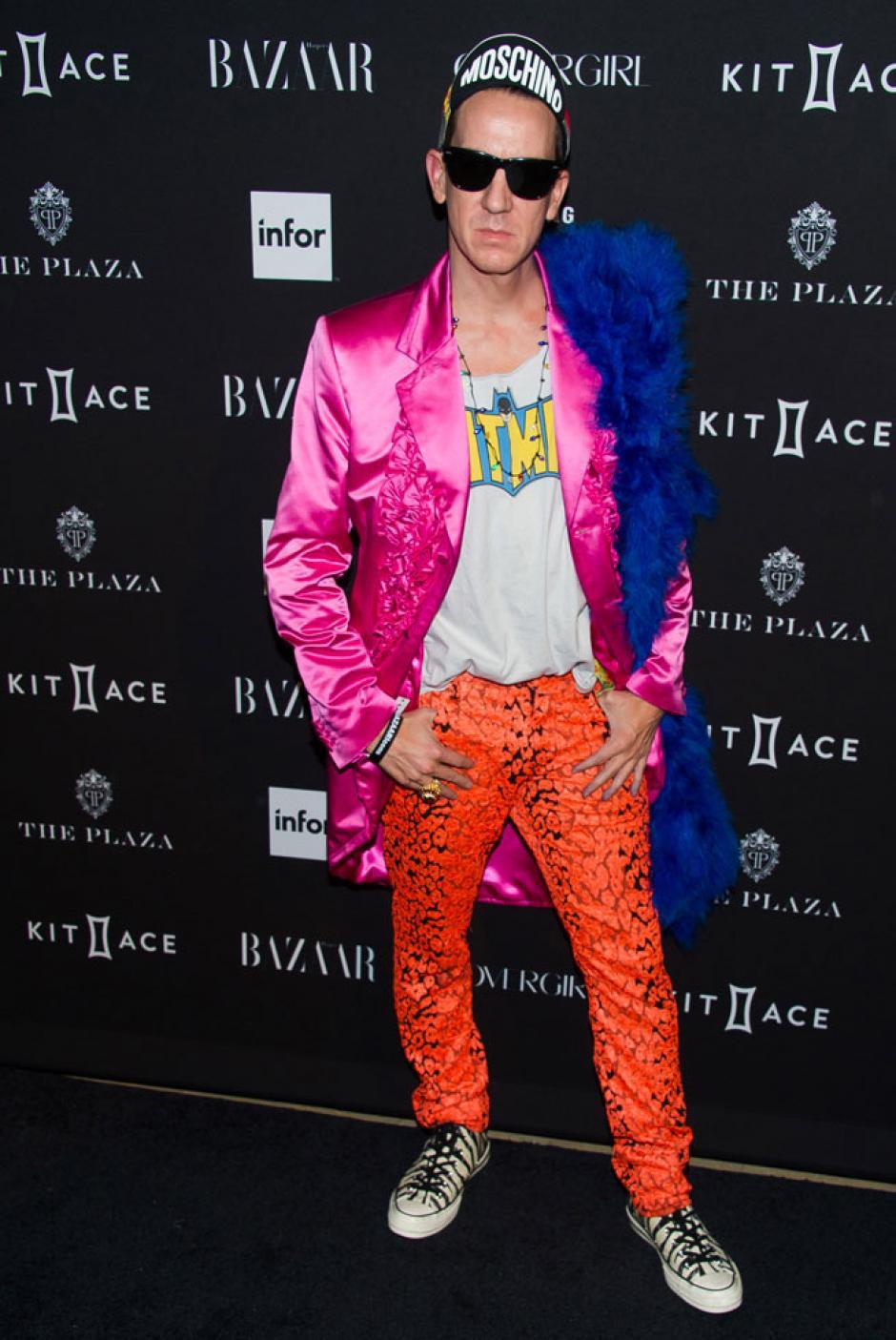 El diseñador de moda Jeremy Scott decidió desafiar al sistema con color. (Foto: GTRES)
