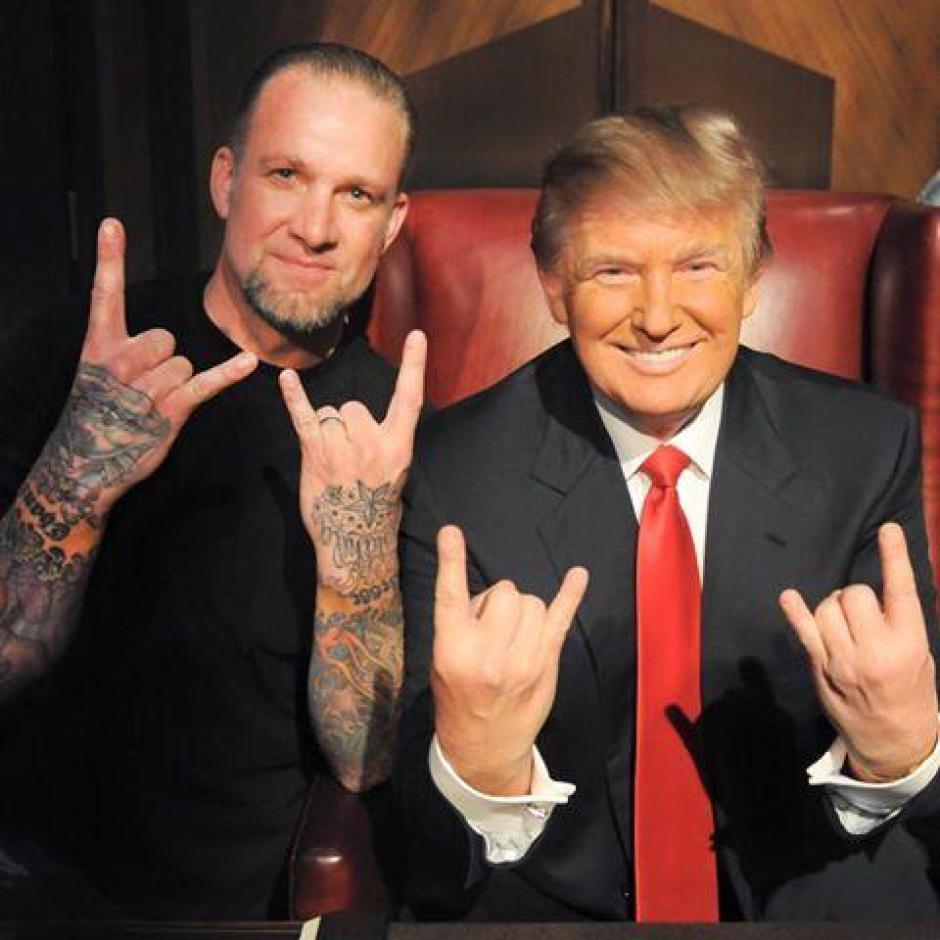 Jesse James es fanático de Trump. (Foto: Univisión)