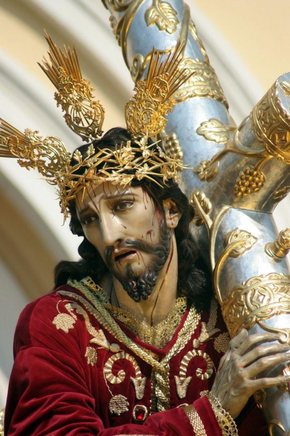 La imagen del Nazareno del Beaterio de Belén. (Foto: Raúl Illescas).