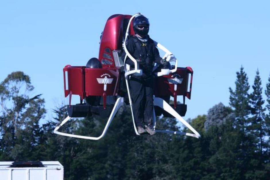 El Martin Jetpack podría convertirse en la primera máquina de su clase en venderse de forma comercial. (Foto: Martin Jetpack)