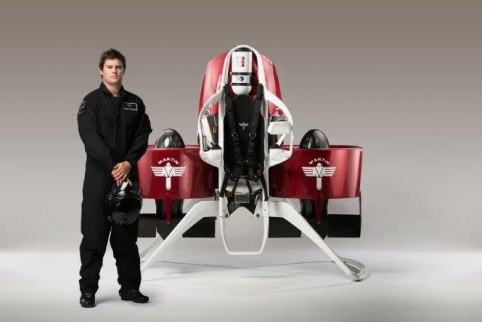 Puede ser usada por un piloto o a control remoto. (Foto: Martin Jetpack)