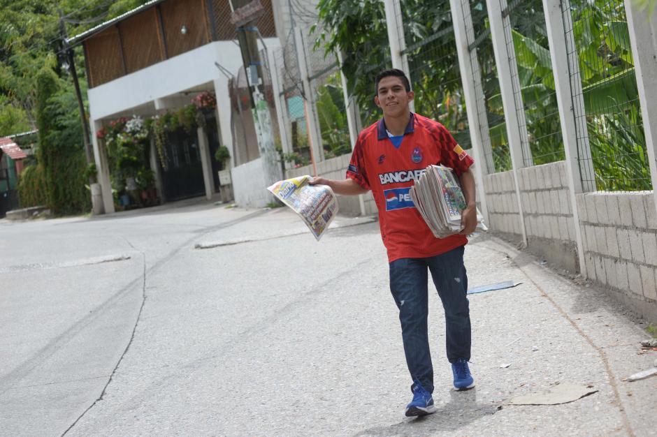 """Jhon es una de las """"perlas"""" juveniles de los rojos. (Foto: Diego Galiano/especial para Nuestro Diario)"""
