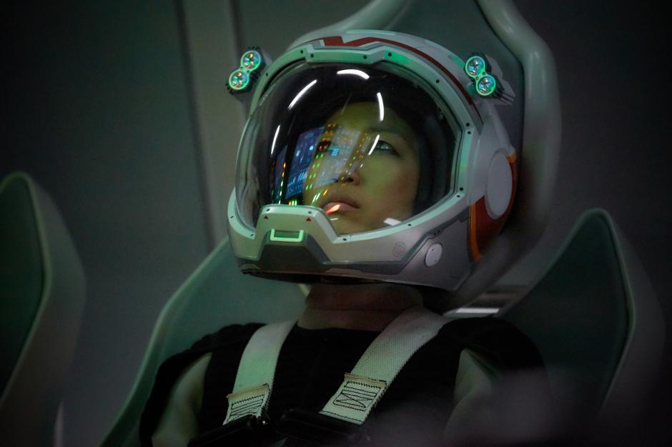Hana Seung, intrepretada por Jihae, es la piloto de la nave. (Foto: Fox)