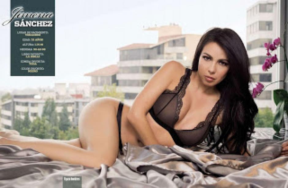 Jimena Sánchez infartante en revista H foto 05