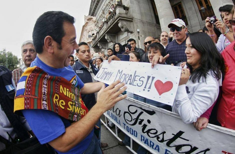 El presidente electo, Jimmy Morales inicio una gira en el país para agradecer a los votantes. (Foto: Facebook/JimmyMorales)