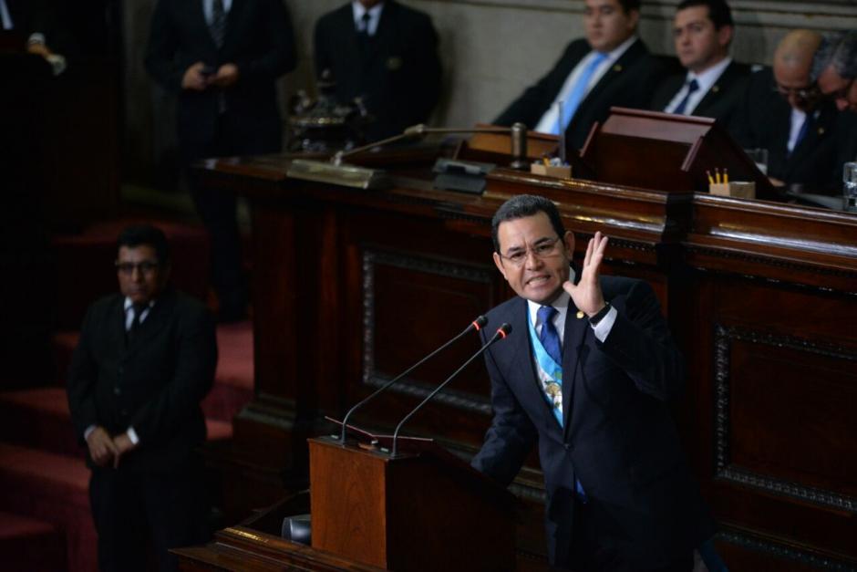 Morales tomó como uno de sus principales logros las finanzas y recaudación. (Foto: Wilder López/Soy502)