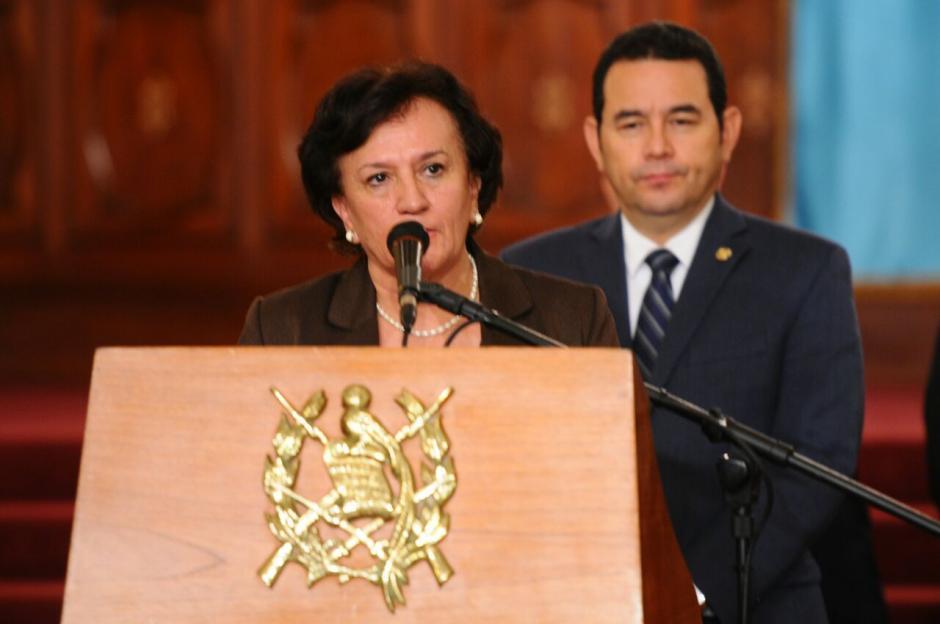 Annabella Morfín fue designada para la PGN. (Foto: Alejandro Balán/Soy502)