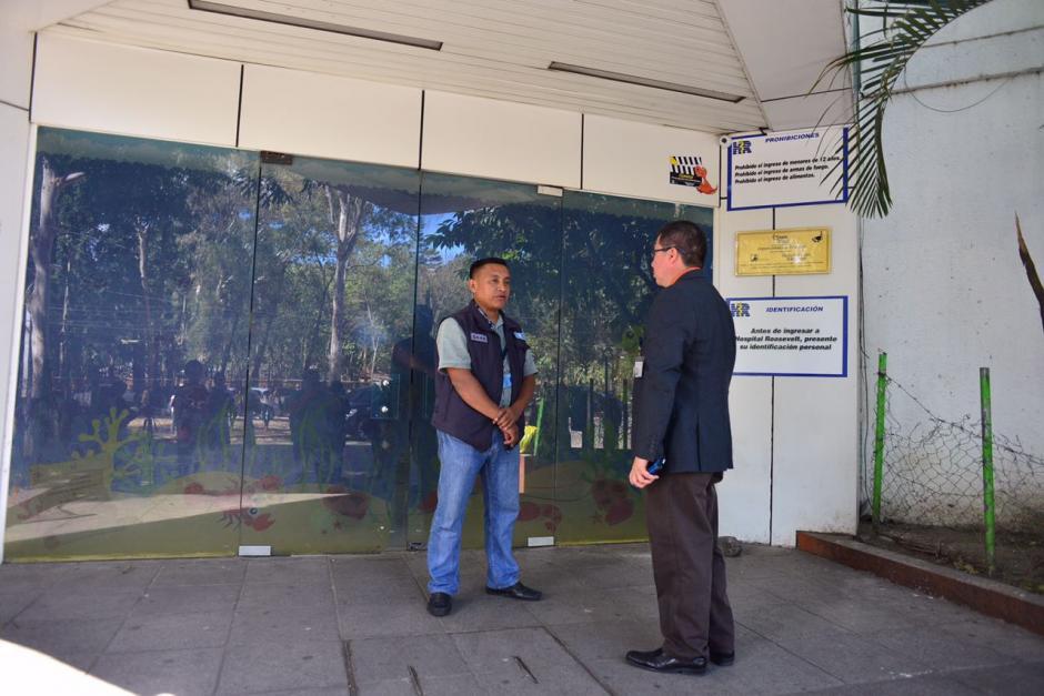 El acceso a los medios fue restringido. (Foto: Jesús Alfonso/Soy502)