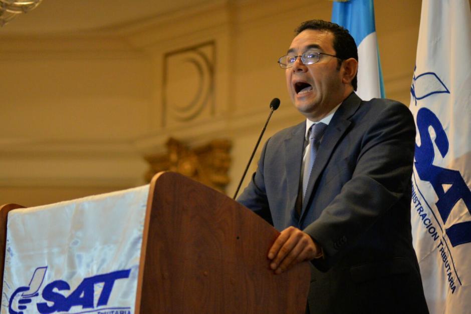 Morales argumentó que Guatemala tiene la carga tributaria más baja. (Foto: Wilder López/Soy502)
