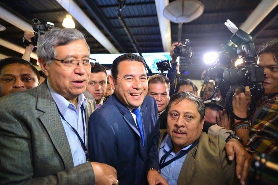 La candidatura de Jimmy recibió el apoyo de más de 1 millón de votos. (Foto: Archivo/Soy502)