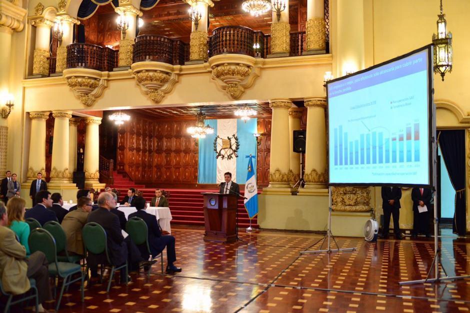 También se detallaron los rubros donde se aumentarán impuestos. (Foto: Jesús Alfonso/Soy502)