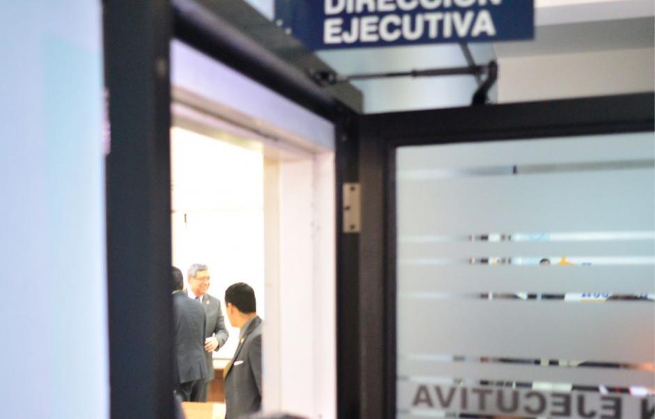 Al lugar también acudió el vicepresidente Jafeth Cabrera. (Foto: Jesús Alfonso/Soy502)