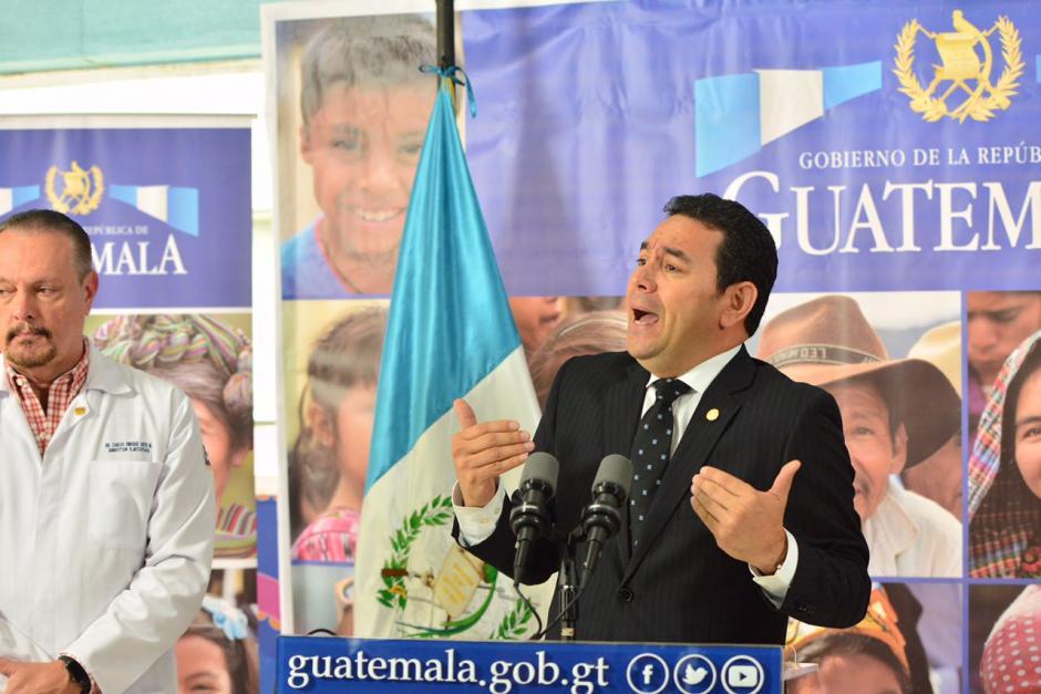 Sin embargo, afirmó que sí se trata de una de las peores crisis de su gobierno. (Foto: Jesús Alfonso/Soy502)