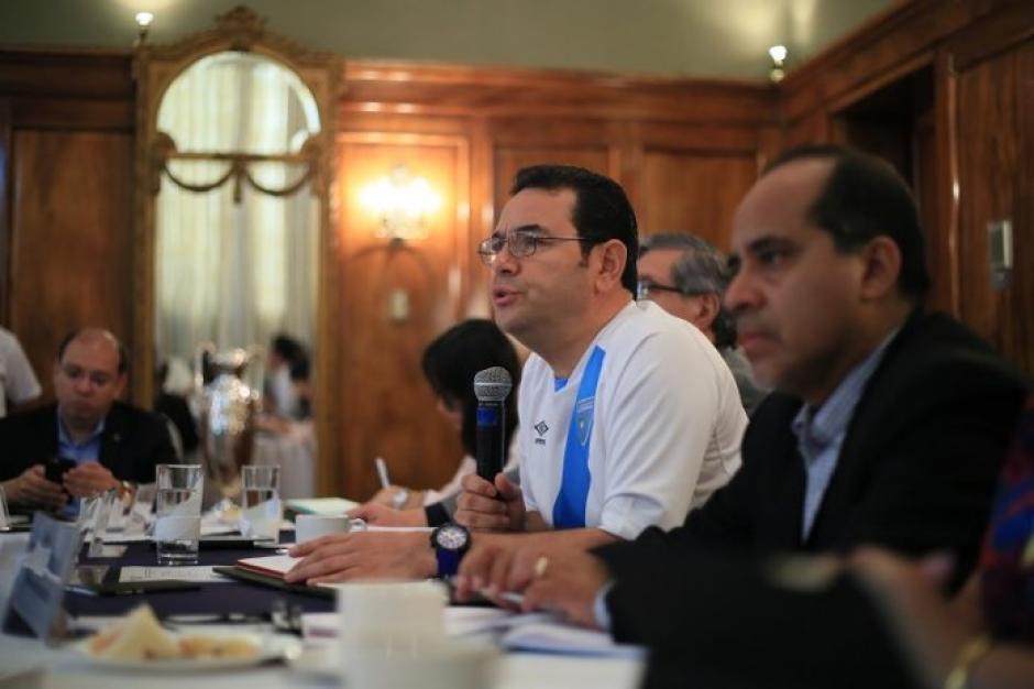 La reunión se efectuó en Casa Presidencial este sábado. (Foto: AGN)