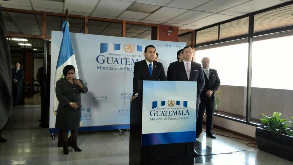 El mandatario presentará esta semana las propuestas a la Reforma Fiscal. (Foto: @GuatemalaGob)