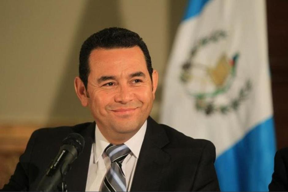 Óscar Chinchilla invitó a Jimmy Morales a ser candidato a alcalde por CREO. (Foto: Wilder López/Soy502)