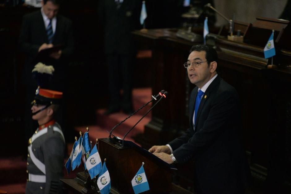 Dos asesores escriben los discursos del presidente Jimmy Morales. (Foto: Archivo/Soy502)