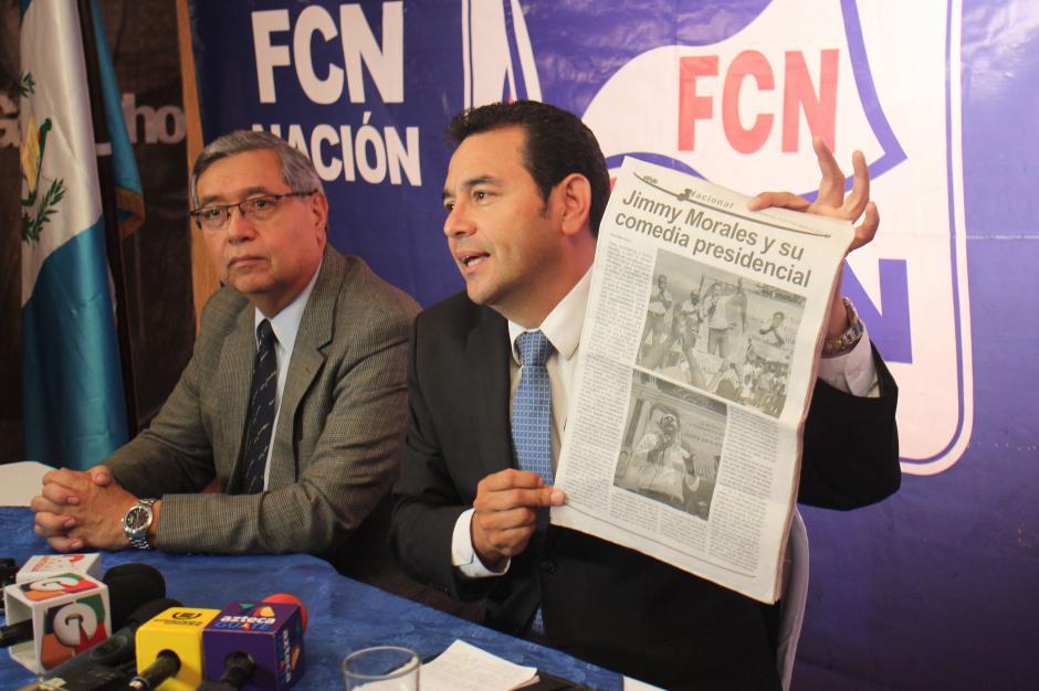 En el restaurante también denunció las amenazas y la campaña. (Foto: Alejandro Balán/Soy502)