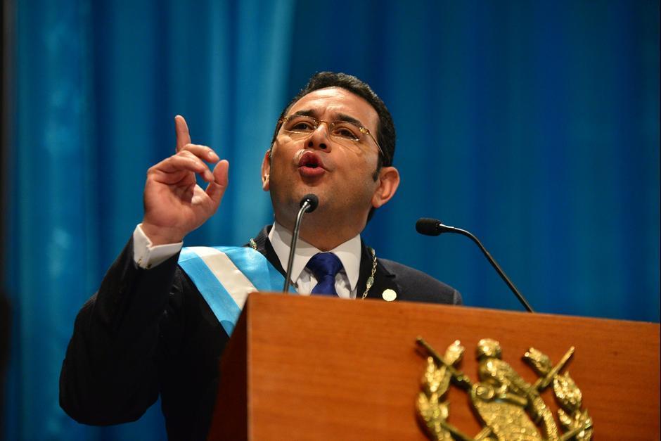 En enero, juramentaron a Jimmy Morales como Presidente de Guatemala. (Foto: Archivo/Soy502)