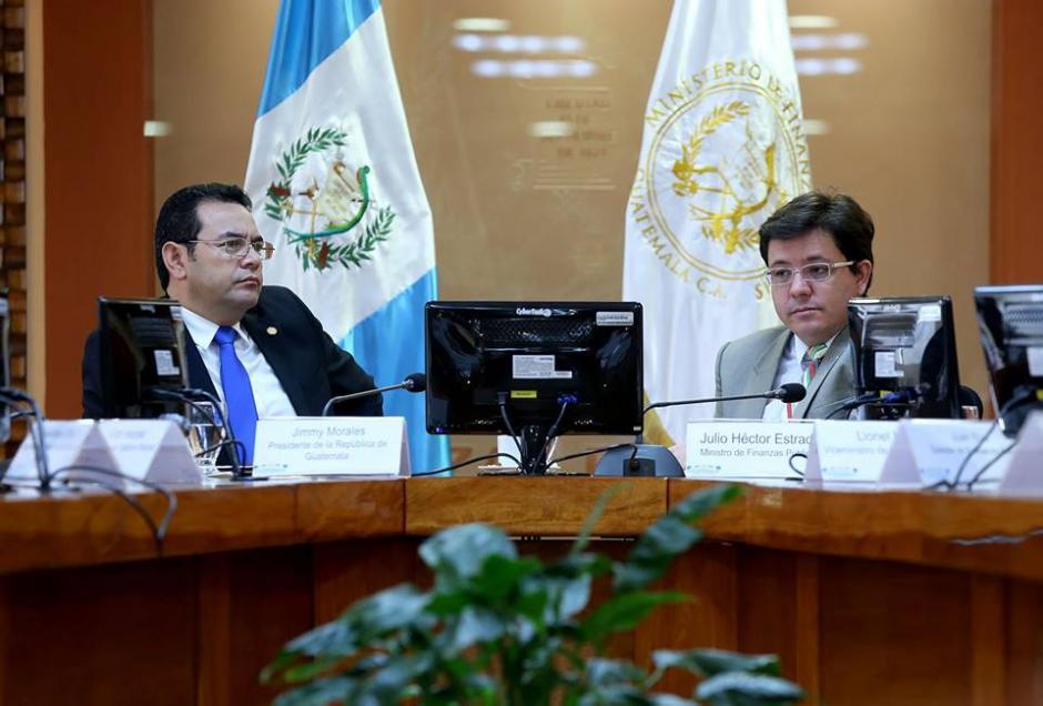 La propuesta de reforma fiscal será presentada este jueves. (Foto: Gobierno de Guatemala)