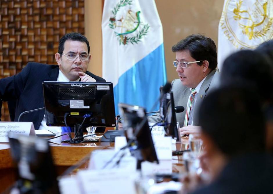 El presidente Jimmy Morales presentará este jueves su propuesta al Congreso. (Foto: Gobierno de Guatemala)