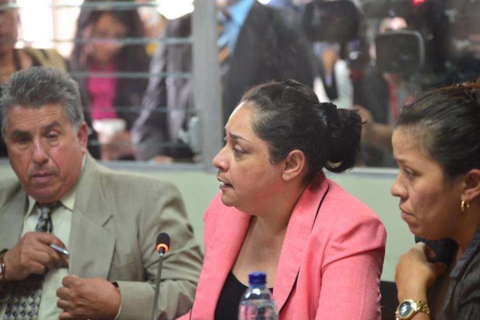La jueza Jisela Reinoso, al finalizar la audiencia, envió un mensaje al resto de togados donde pidió acatar todo lo que el MP pida. (Foto: Jesús Alfonso/Soy502)