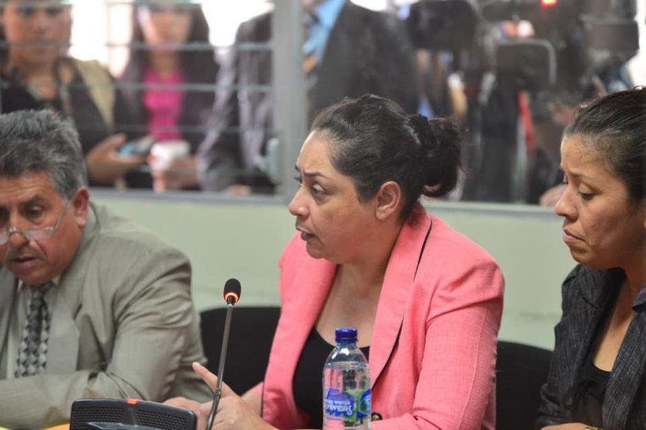 La jueza Jisela Reinoso argumentó que debería recibir una medida sustitutiva en su caso. (Foto: Jesús Alfonso/Soy502)