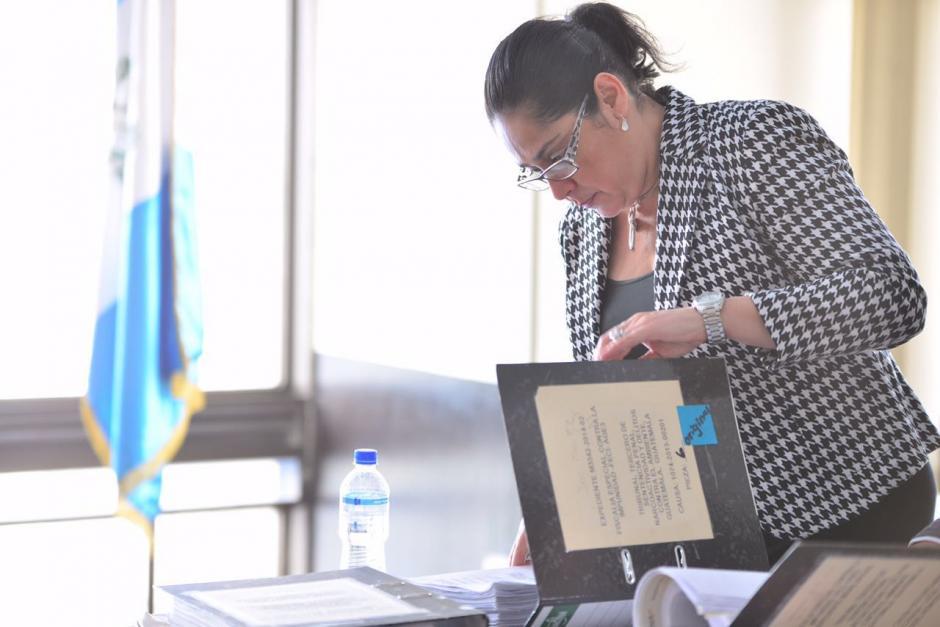 Jisela Reinoso enfrenta juicio acusada de lavado de dinero, enriquecimiento ilícito e incumplimiento del deber de presentar declaración jurada patrimonial. (Foto: Jesús Alfonso/Soy502)