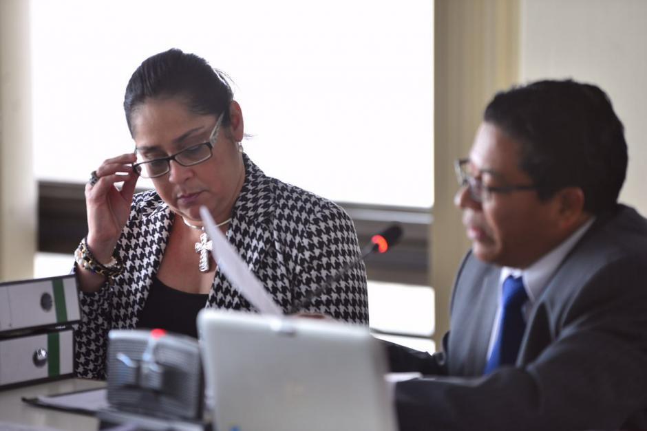 Jisela Reinoso está actualmente suspendida de sus funciones como jueza. (Foto: Jesús Alfonso/Soy502)