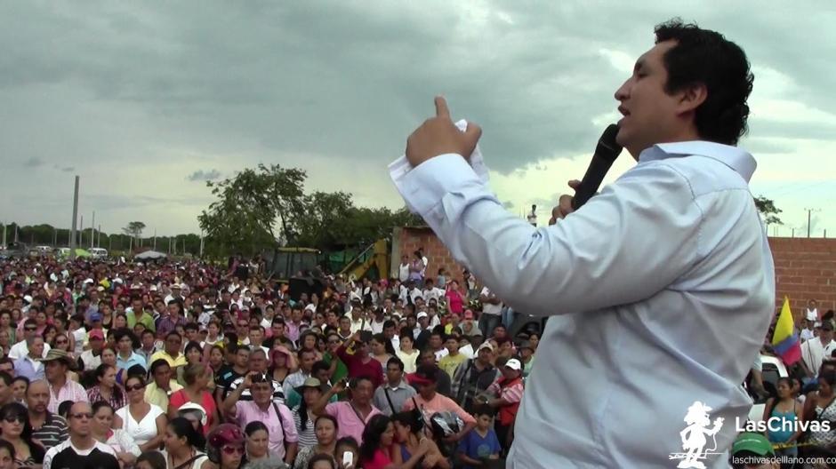 John Jairo Torres, que está preso desde hace once días por urbanización ilegal, ganó la alcaldía de Yopal, capital del departamento colombiano de Casanare . (Foto:laschivasdelllano.com.co)