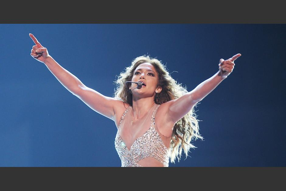 Jlo subió la temperatura en sus redes con un video. (Foto: The Huffington Post)