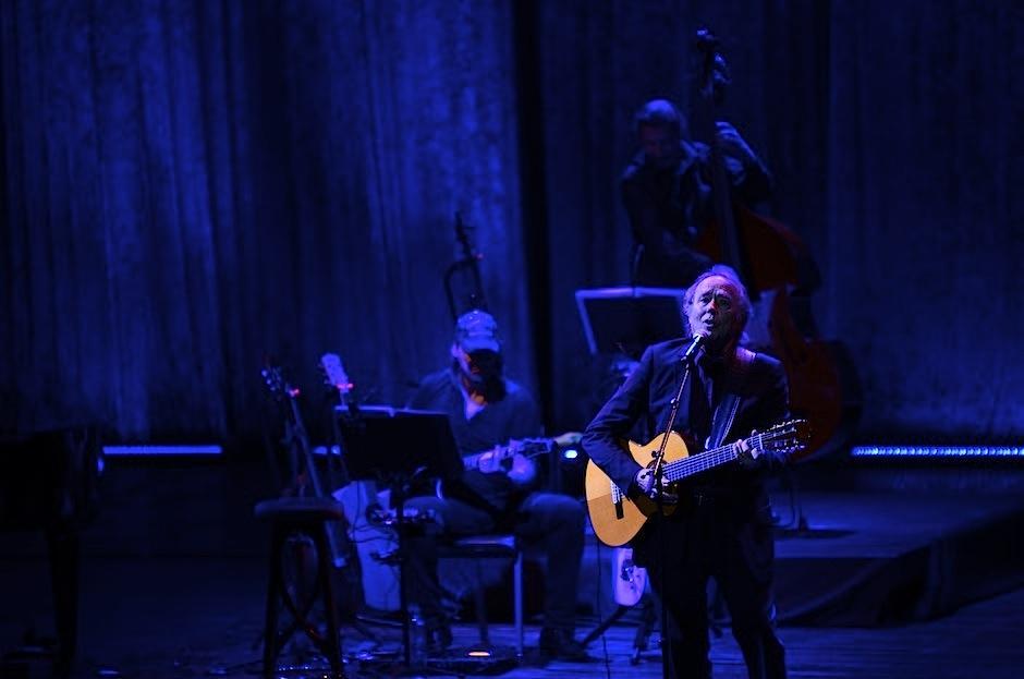 El cantautor catalán Joan Manuel Serrat visitó Guatemala para celebrar 50 años de carrera. (Foto: Selene Mejía/Soy502)