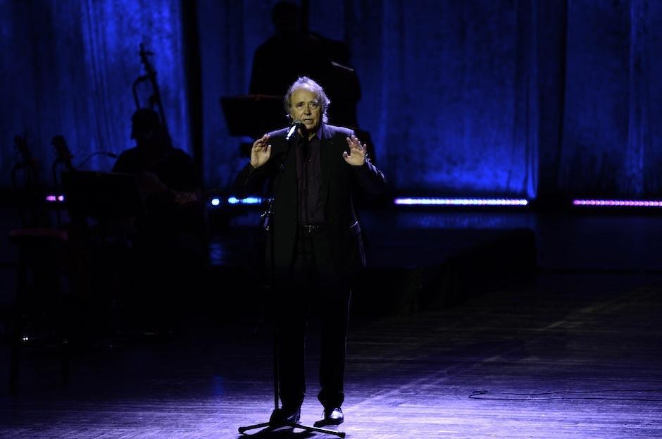 Joan Manuel Serrat es considerado uno de los mayores poetas contemporáneos. (Foto: Selene Mejía/Soy502)