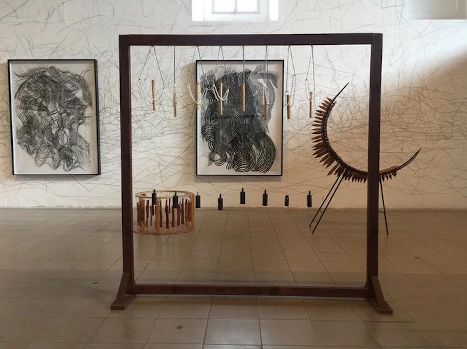 Estas piezas de Joaquín Orellana se exhibieron en el Museo de Arte y Diseño Contemporáneo. (Foto: NuMu/Kickstarted)