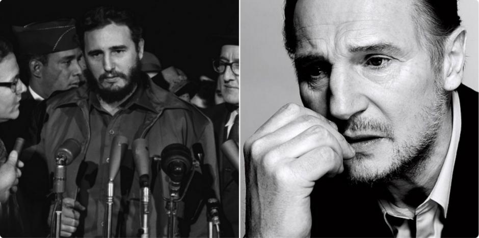 Neeson seria el actor perfecto para hacer una película de Castro. (Foto: @JohnnyBoy_OX/Twitter)