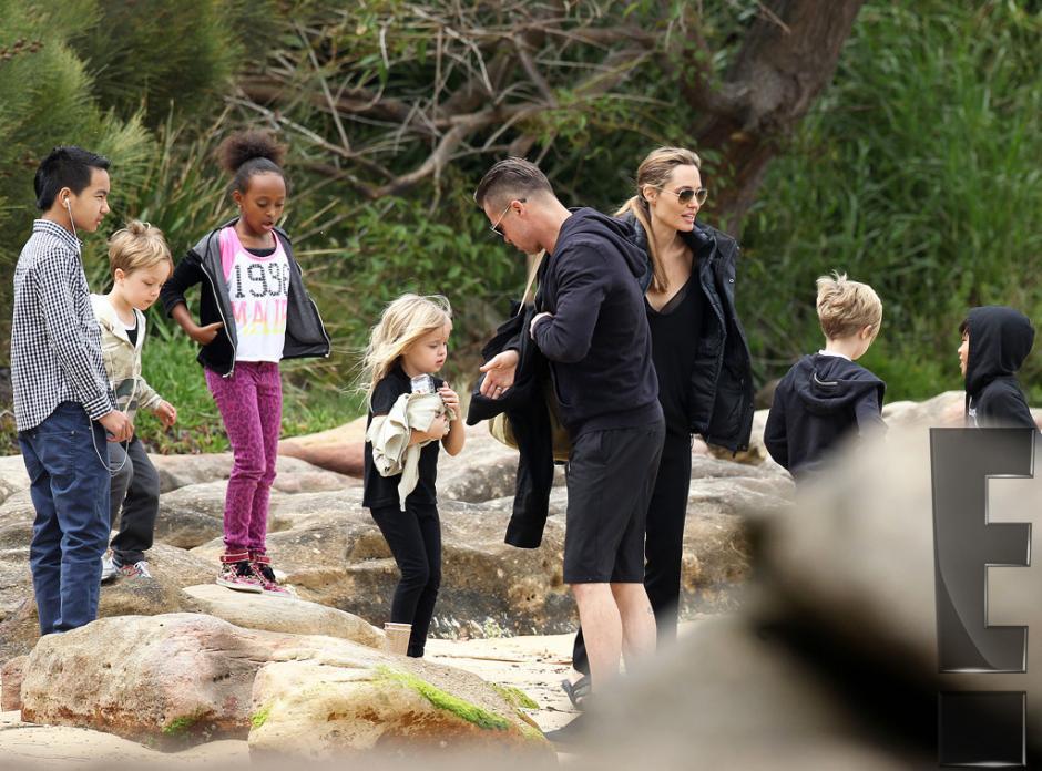 Después del viaje dieron un recorrido por el zoológico de Sidney. (Foto: E! Entertaiment)