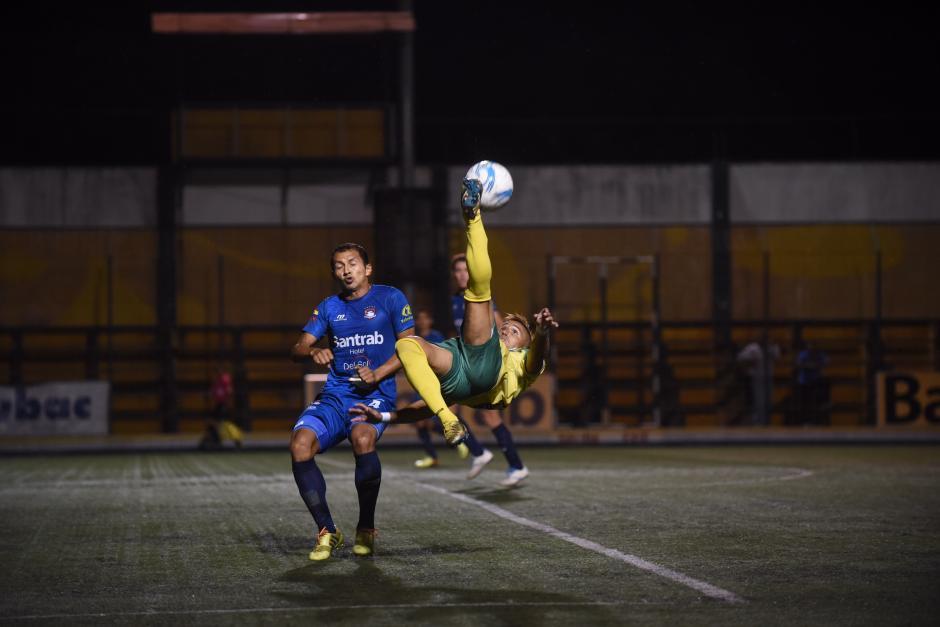 Petapa derrotó a Mictlán con un gol de Adrián Apellaniz. (Foto: Nuestro Diario)