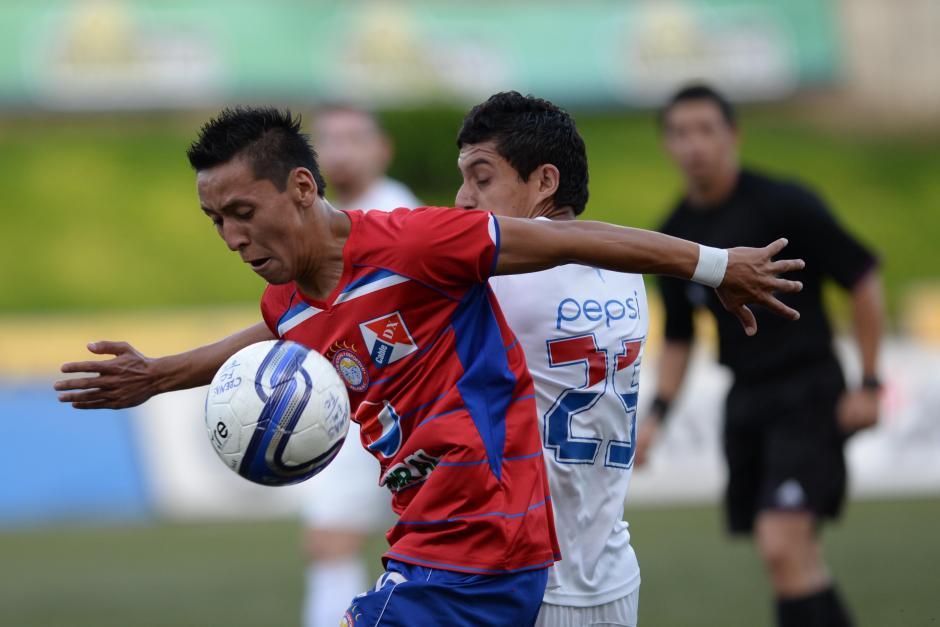 Los Chivos lucharon hasta el último metro de cancha para lograr el empate. (Foto: Nuestro Diario)
